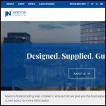 Screen shot of the John Newton & Co Ltd website.