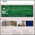 Screen shot of the NMR Group website.