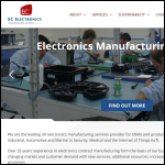 Screen shot of the EC Electronics Ltd website.