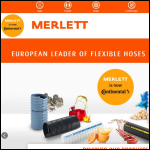 Screen shot of the Merlett Plastics (UK) Ltd website.