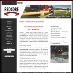 Screen shot of the Redcor Ltd website.
