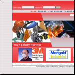 Screen shot of the MG Safety website.