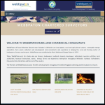Screen shot of the Webb Paton Rural Valuers & Land Agents website.