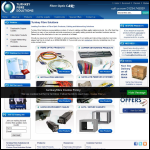 Screen shot of the Turnkey Fibre Solutions Ltd website.
