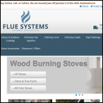 Screen shot of the Non Fumo Flue Systems Ltd website.