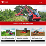 Screen shot of the Twose of Tiverton Ltd website.
