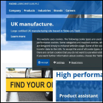 Screen shot of the FUCHS Lubricants (UK) plc website.