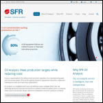 Screen shot of the SFR (GB) Ltd website.