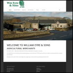 Screen shot of the William Eyre & Sons website.