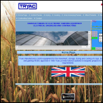 Screen shot of the Tryac website.