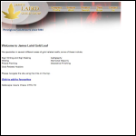 Screen shot of the Laird, James (Gold Beaters) Ltd website.