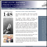 Screen shot of the Lallow Clare website.