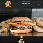 Screen shot of the Ontario Burger Co website.