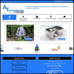 Screen shot of the AT Engineering website.
