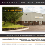 Screen shot of the Rayda Plastics Ltd website.