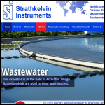 Screen shot of the Strathkelvin Instruments Ltd website.