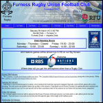 Screen shot of the Furness, R R website.