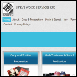 Screen shot of the Steve Wood Services Ltd website.