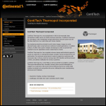 Screen shot of the Thermopol Ltd website.