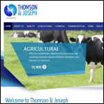 Screen shot of the Thomson & Joseph Ltd website.