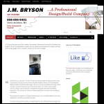 Screen shot of the Bryson, J. M. website.