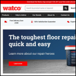 Screen shot of the Watco UK Ltd website.