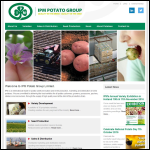 Screen shot of the Irish Seed Potatoes Ltd website.