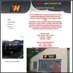 Screen shot of the Walker & Howell Ltd website.